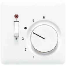 CDTR231PLPT CD 500/CD plusПлатина Накладка термостатакомнатного с выкл.(мех TR231U,TR241U)