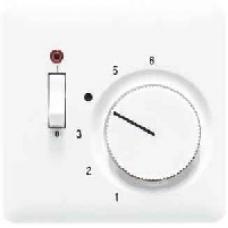 CDTR231PLSW CD 500/CD plusЧерный Накладка термостатакомнатного с выкл.(мех TR231U,TR241U)