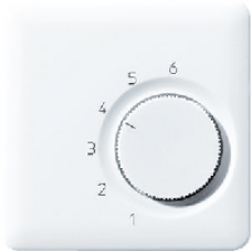 CDTR236PLLG CD 500/CD plusСветло-серый Накладка термостатакомнатного(мех TR236U,TR246U)