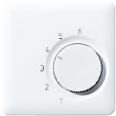 CDTR236PLSW CD 500/CD plusЧерный Накладка термостатакомнатного(мех TR236U,TR246U)