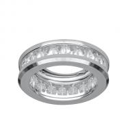 Светильник Gauss Brilliance CR050, Кристал/Хром, Gu5.3 1/50