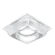 Светильник Gauss Glass CR053 Кристалл/Хром, Gu5.3 1/30