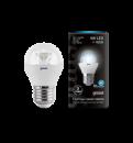 Лампа Gauss LED Globe Crystal Clear E27 4W 4100K 1/10/50