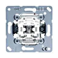 EP401U/1KOWW EcoProfi Бел Выключатель 1-клавишный с подсветкой ( в сборе, без рамки)