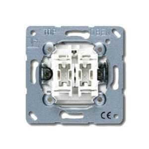 EP406U/1KO EcoProfi Беж Переключатель 1-клавишный с подсветкой ( в сборе, без рамки)