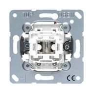 EP406U/1KOWW EcoProfi Бел Переключатель 1-клавишный с подсветкой ( в сборе, без рамки)