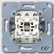 EP407U EcoProfi Мех Переключатель 1-клавишный, промежуточный, 10А, ~250В