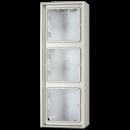 ES2583A-L LS 990 Edelstahl Коробка 3-я для накладного монтажа