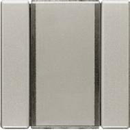 ES42F LS 990 EdelstahlПульт управления настенный плоский,6V, 2 канала