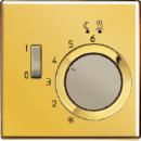 FTRGO231 LS 990 Блеск золота Регулятор теплого пола, 10А