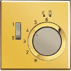 FTRLS231GGO LS 990 Золото Регулятор теплого пола, 10А