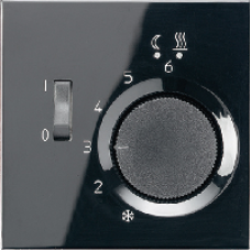 FTRLS231SW LS 990 Черный Регулятор теплого пола, 10(4)А