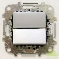 Z2202 PL NIE Zenit Серебро Переключатель 1-клавишный 2 мод