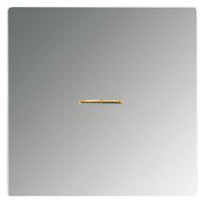GCR1561.07U LS 990 Блестящий хромНакладка светорегулятора/выключателя нажимного с индикацией