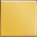 GO1561.07 LS 990 Блеск золотаНакладка светорегулятора/выключателя нажимного