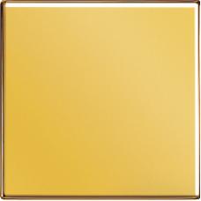 GO1561.07F LS 990 Блеск золотаНакладка светорегулятора/выключателя нажимного с ДУ (радио)