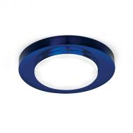 Светильник Gauss Tablet GX203 Круг. Кристалл/Синий, GX53 1/50