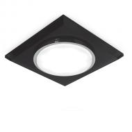 Светильник Gauss Tablet GX205 Квадрат. Кристалл/Черный, GX53 1/50