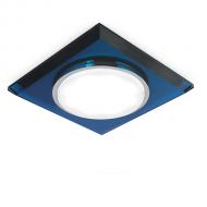 Светильник Gauss Tablet GX206 Квадрат. Кристал/Синий, GX53 1/50