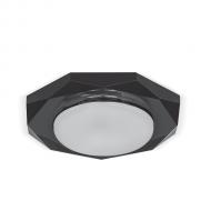 Светильник Gauss Tablet GX208 Восемь гран. Кристалл/Черный, GX53 1/50