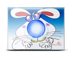Декоративная панель Vitrumino I EU заяц, стекло