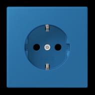 LC1520KI32030 LS 990 Bleu ceruleen 31(32030) Розетка с/з с защ штор, безвинт зажим