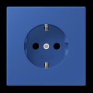 LC1520KI4320K LS 990 Bleu outremer 59(4320K) Розетка с/з с защ штор, безвинт зажим