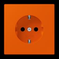 LC1520KI4320S LS 990 Orange vif(4320S) Розетка с/з с защ штор, безвинт зажим