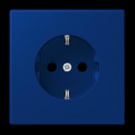 LC1520KI4320T LS 990 Bleu outremer fonce(4320T) Розетка с/з с защ штор, безвинт зажим