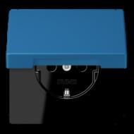 LC1520KIKL32030 LS 990 Bleu ceruleen 31(32030) Розетка с/з с защ штор с крышкой безвинт зажим
