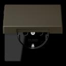 LC1520KIKL32140 LS 990 Ombre naturelle 31(32140) Розетка с/з с защ штор с крышкой безвинт зажим