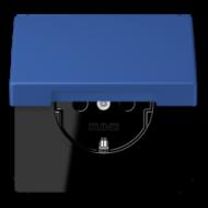 LC1520KIKL4320K LS 990 Bleu outremer 59(4320K) Розетка с/з с защ штор с крышкой безвинт зажим