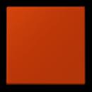 LC1561.074320A LS 990 Rouge vermillon 59(4320A) Накладка светорегулятора нажимного