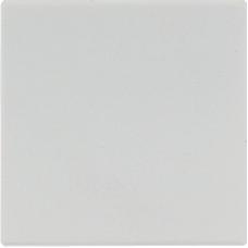 LS1561.07LG LS 990 Светло-серыйНакладка светорегулятора/выключателя нажимного