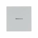 LS1561.07ULG LS 990 Светло-серыйНакладка светорегулятора/выключателя нажимного с индикацией