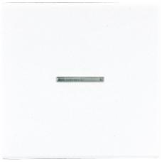 LS1561.07UWW LS 990 БелНакладка светорегулятора/выключателя нажимного с индикацией