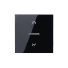 LS5232SW LS 990 ЧерныйНакладка нажимного электронного жалюзийного выключателя