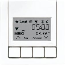 LS5232T3LG LS 990 Светло-серыйНакладка жалюзийного выкл. УНИВЕРСАЛ с таймером(мех.220ME,230ME,232ME)