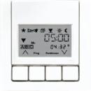 LS5232T3WW LS 990 БелНакладка жалюзийного выключателя УНИВЕРСАЛ с таймером(мех.220ME,230ME,232ME,224ME)