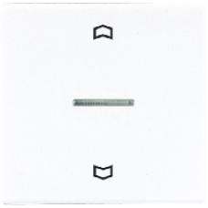LS5232WW LS 990 БелНакладка нажимного электронного жалюзийного выключателя