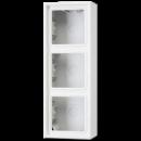 LS583AWW LS 990Бел Коробка для накладного монтажа 3-кратная