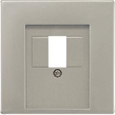 LS969TLG LS 990 Светло-серый Крышка для ТАЕ-розетки,моно/стерео-аудиорозетки,комбинированной вставки