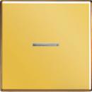 LS990KOGGO LS 990 Золото Клавиша 1-я с/п с красной линзой