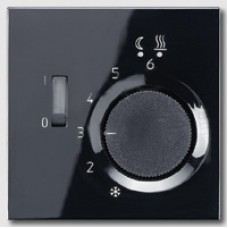 LSFTR231PLSW LS 990 Черный Накладка регулятора теплого пола(мех.FTR231U)