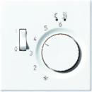 LSTR231PL LS 990 БежНакладка термостатакомнатного с выключателем(мех TR231U,TR241U)