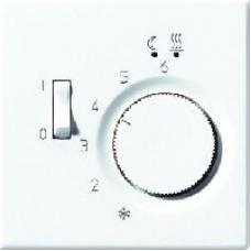 LSTR231PLLG LS 990 Светло-серыйНакладка термостатакомнатного с выключателем(мех TR231U,TR241U)