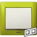 771922 Galea Life Зеленый Металл/Magic Green Рамка 2-я гориз