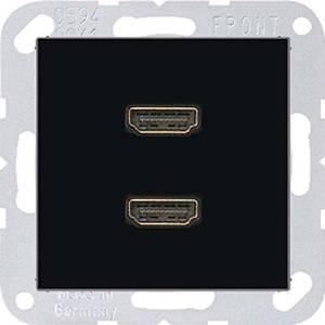 MAA1133SW А 500 Черный Розетка 2-ая HDMI