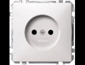 MTN2000-4019 SD Бел Розетка 1-ая б/з с защитными шторками (термопласт) винт.зажим