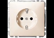 MTN2300-4044 SD Беж Розетка 1-ая с/з с защитными шторками (термопласт) безвинт зажим